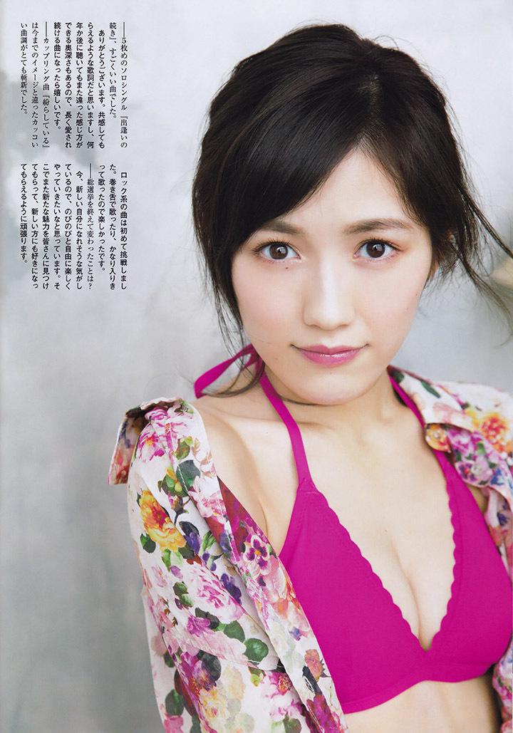 正统派偶像渡边麻友为音乐剧公演而拍摄写真作品大力宣传拉升人气 (34)