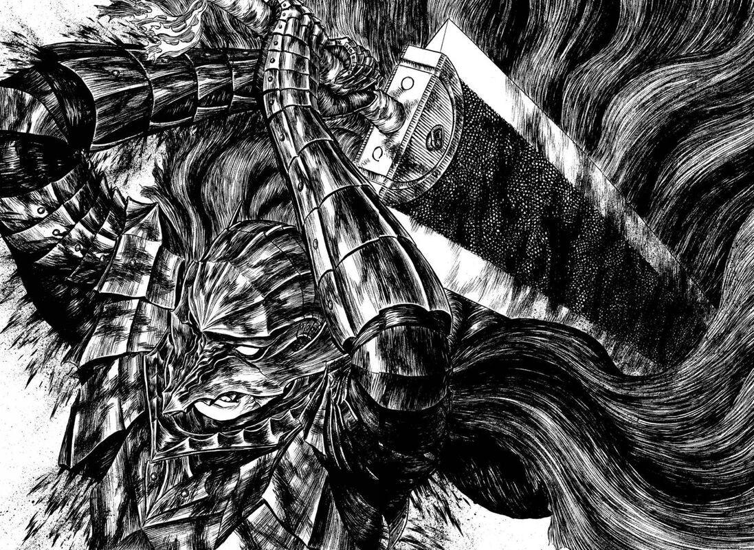 漫画《烙印勇士》大剑黑战士永无止境的复仇剧 (11)