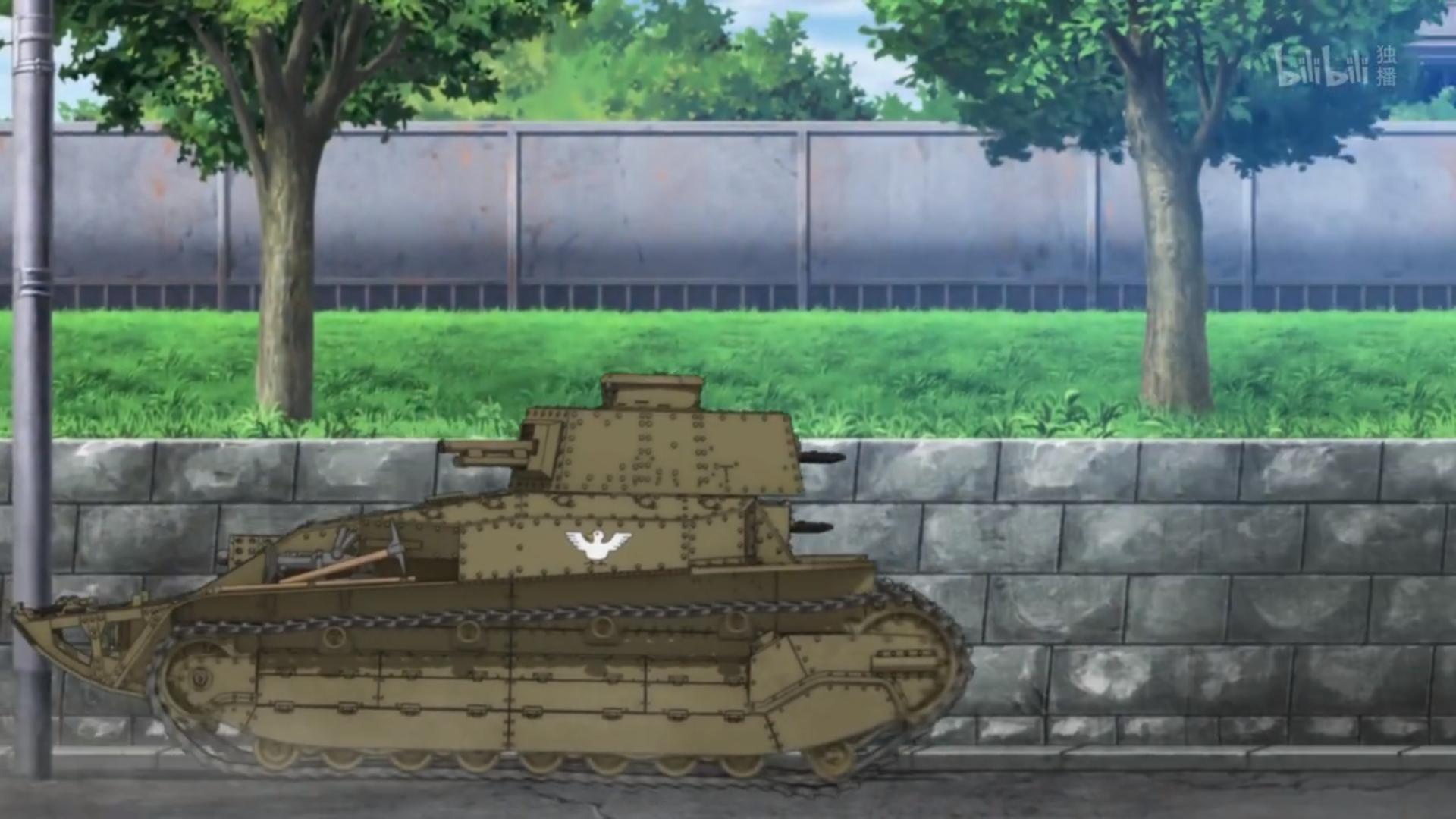 动画《少女与战车》可以全家观赏的轻松愉快的战车对战 (2)