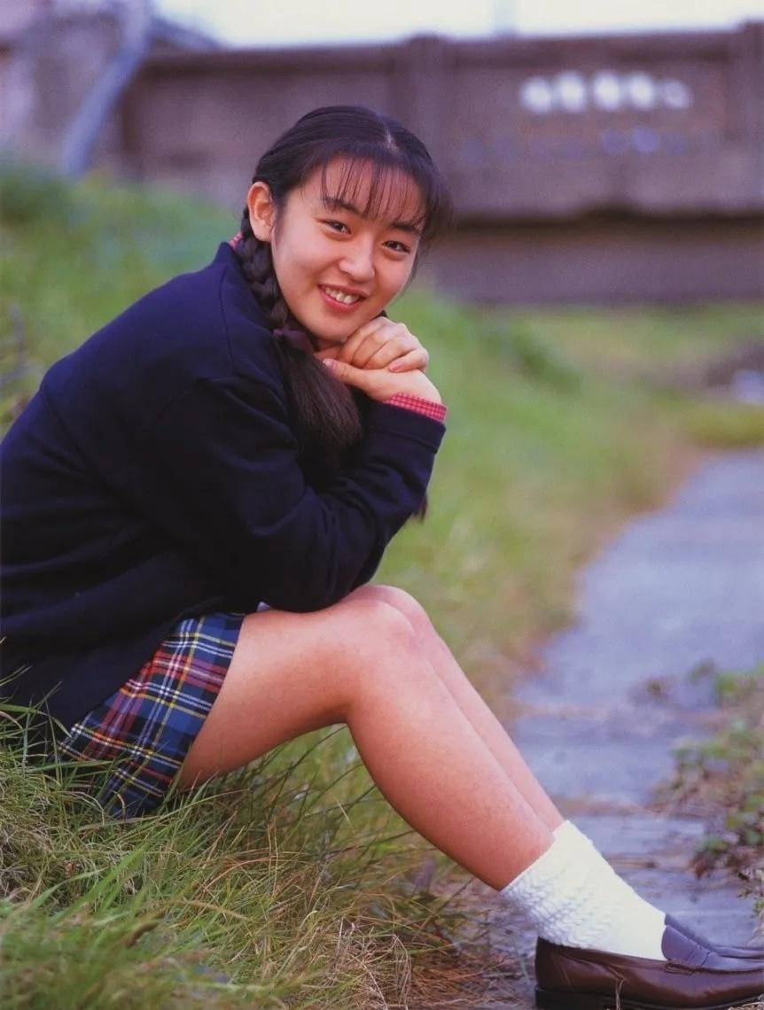 清纯玉女17岁情书中的酒井美纪写真作品 (129)