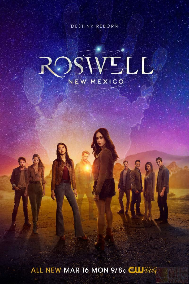 罗斯威尔第三季的海报