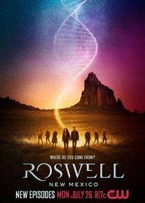 罗斯威尔 第三季的海报