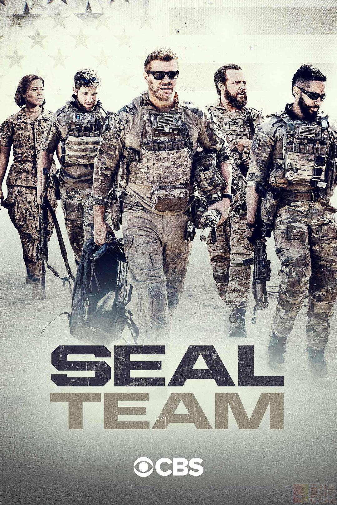 海豹突击队第五季的海报