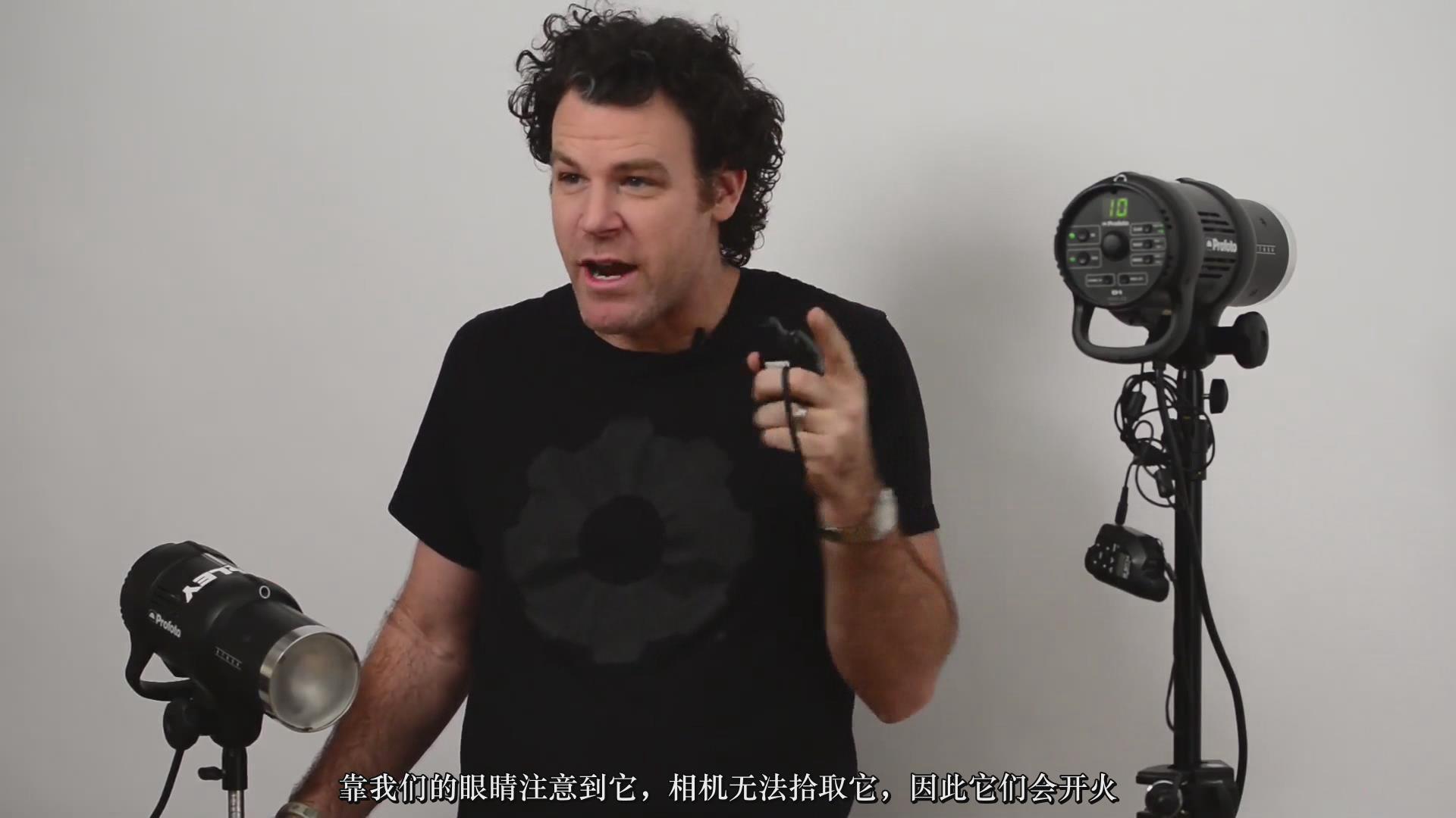 摄影教程_Fstoppers-彼得·赫利(Peter Hurley)完美头像人像面部布光教程-中文字幕 摄影教程 _预览图2