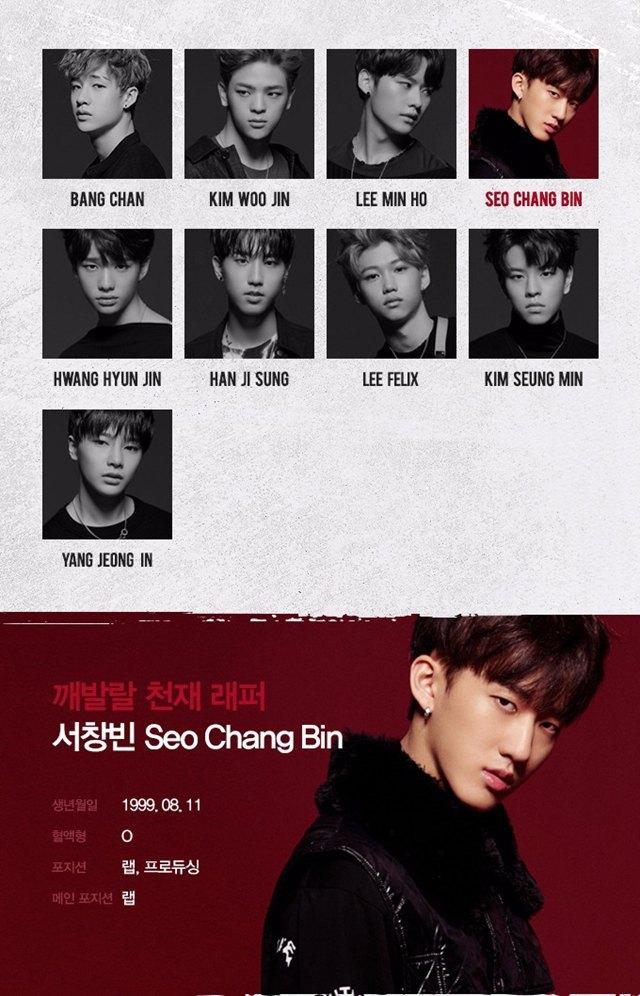 JYP新男团Stray Kids成员简介大公开,这介绍词是不是太肉麻夸张了!插图5