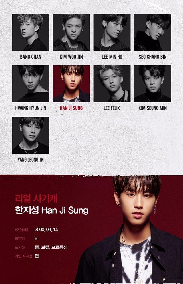 JYP新男团Stray Kids成员简介大公开,这介绍词是不是太肉麻夸张了!插图7