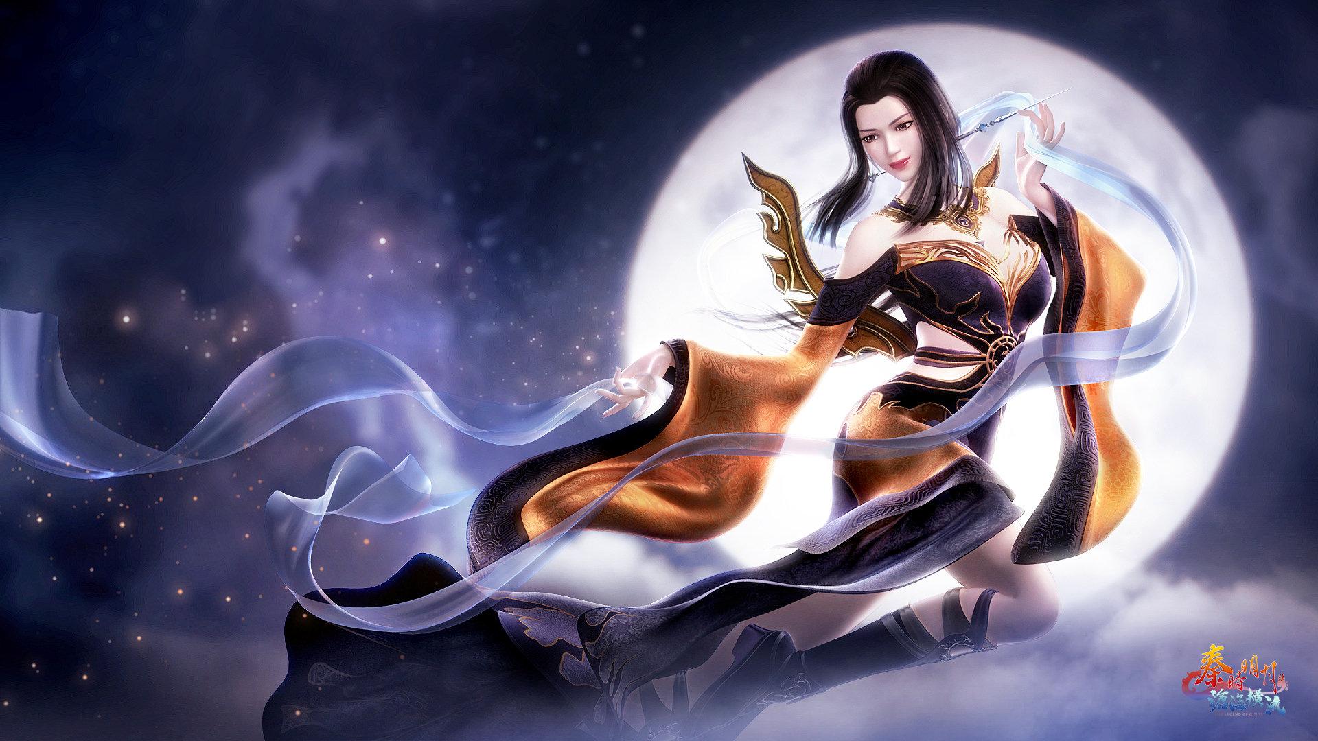 秦时明月焱妃高清大图