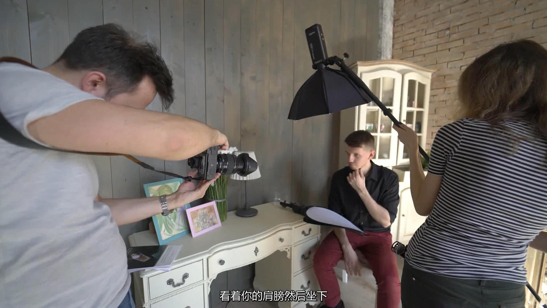 摄影教程_Alexey Gaidin实践30多种人造光闪光灯摄影布光教程-中文字幕 摄影教程 _预览图12