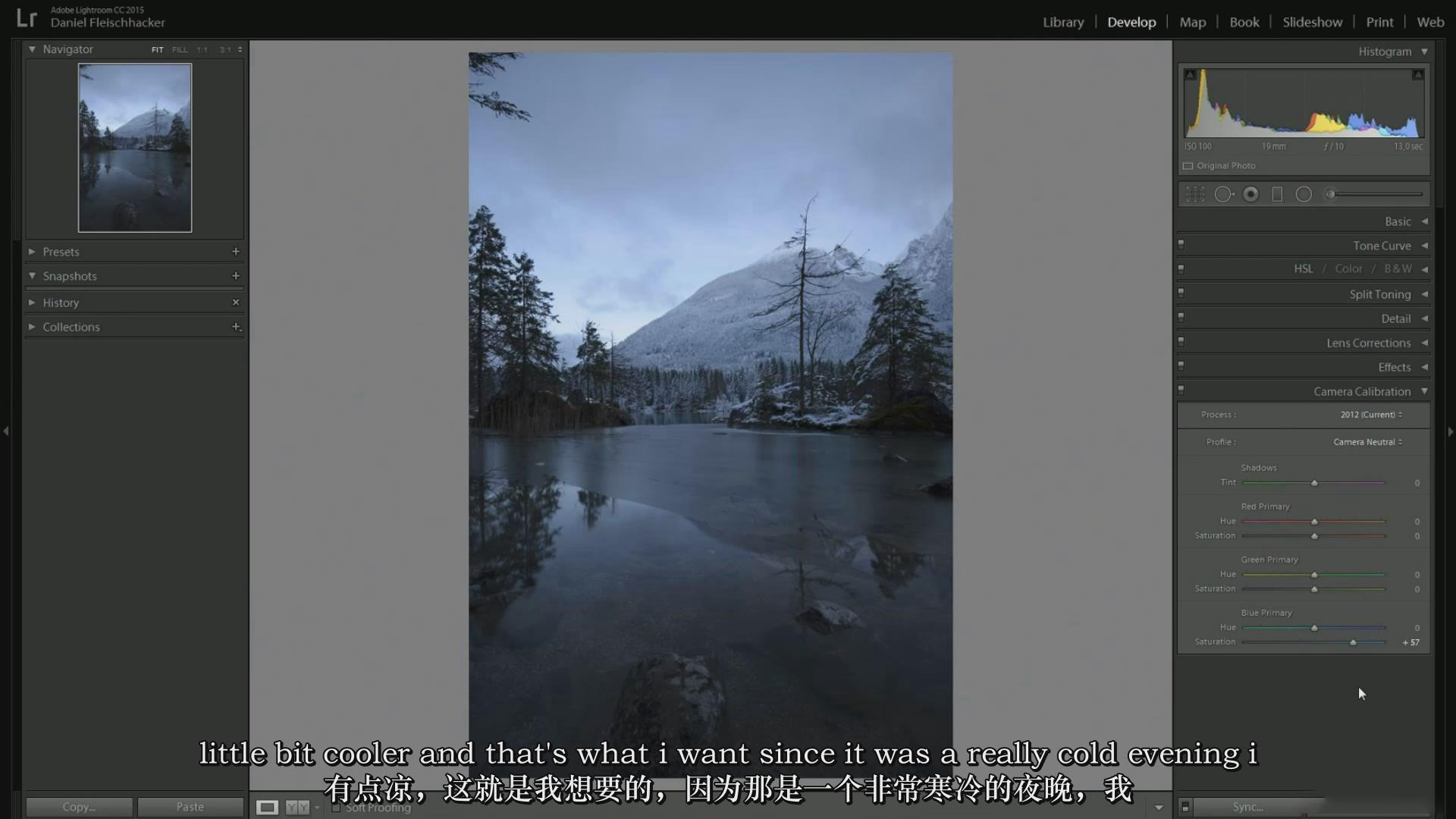 摄影教程_Daniel Fleischhacker景观和自然风光摄影Photoshop后期大师班-中英字幕 摄影教程 _预览图4