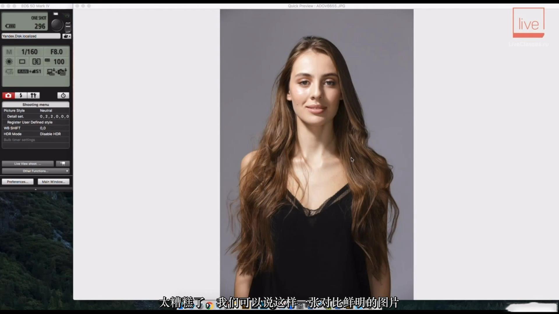 摄影教程_Liveclasses-Alexey Dovgulya使用强光或柔光拍摄酷炫工作室人像-中文字幕 摄影教程 _预览图7