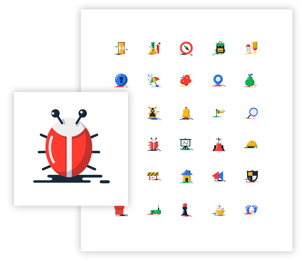 Blobs Icons