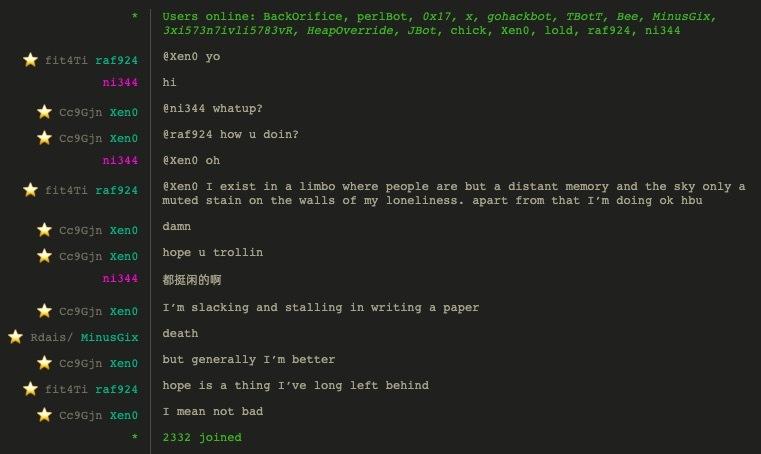 匿名聊天室Hack.chat