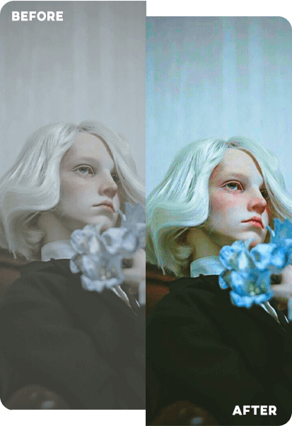 AI图像修复增强器 在线AI提高照片图像像素网站-云奇网