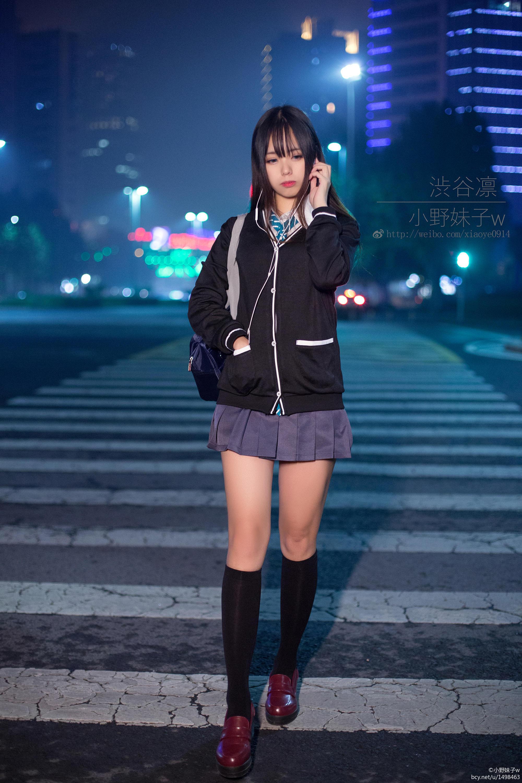 小野妹子w-偶像大师灰姑娘女孩(涩谷凛) [7P-4MB]作品 (2)