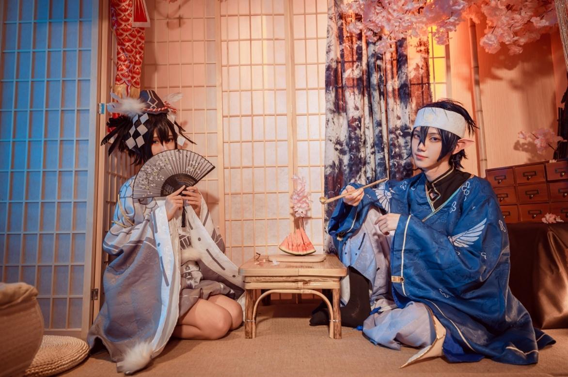 妖君白研 - NO.03 凹凸世界雷狮和风雷卡COS正片 (16)