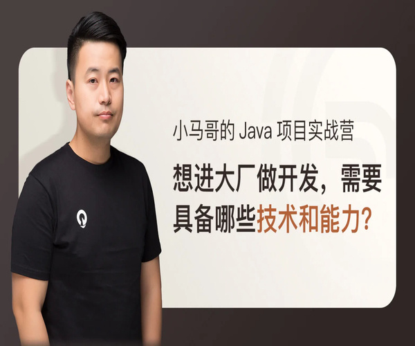 小马哥的 Java 项目实战营课程