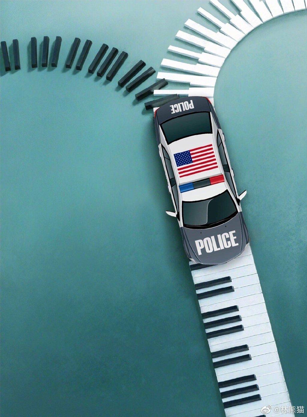 有人修改了《绿皮书》的电影海报,注意车头方向。。。 
