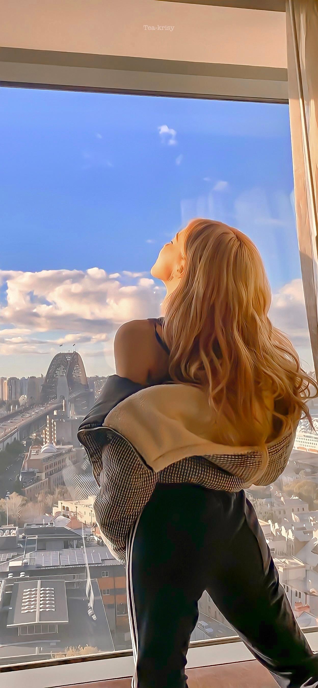韩国妹子 Rosé 朴彩英 性感日常美图欣赏-觅爱图