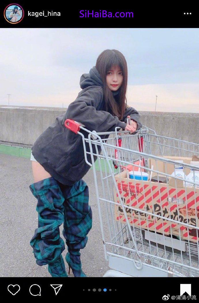 [奇葩买家秀]一个在超市裤子没穿好的人 涨姿势 第2张