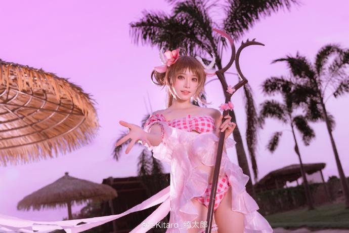 微博网红少女cosplayerKitaro_绮太郎小姐姐cos的艾雅法拉出图啦-cos图片