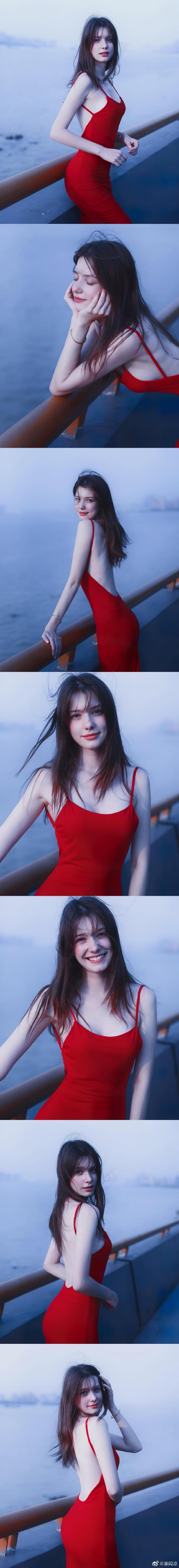 白俄罗斯模特Anastasia Cebulska