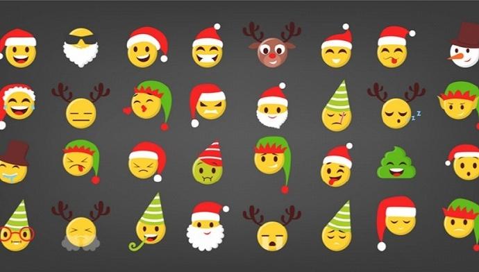 """微信圣诞节彩蛋来了:搜索""""圣诞快乐""""可定制祝福表情"""