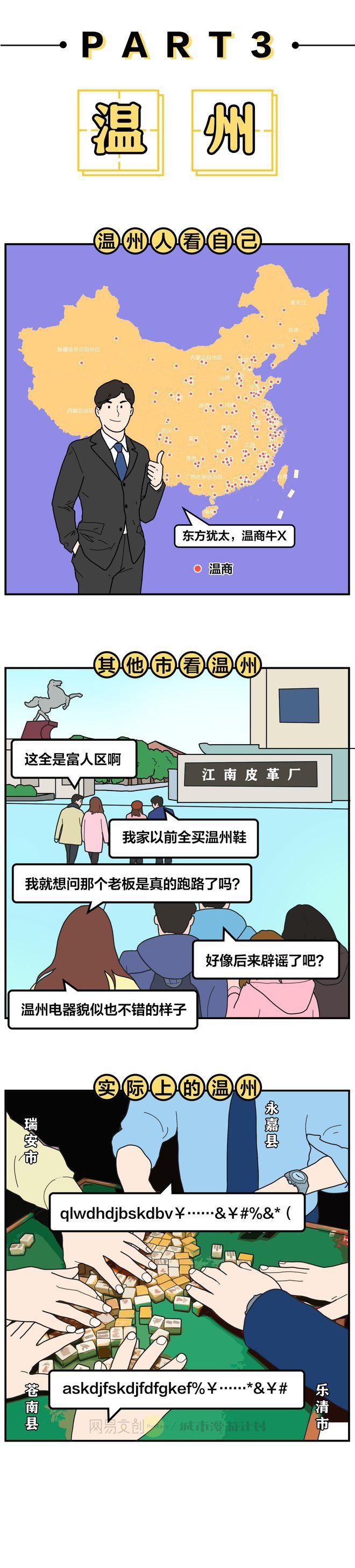 浙江各市有多散装,震惊隔壁江苏