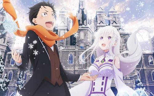 《从零开始》新作OVA将在电影院上映主视觉图公布