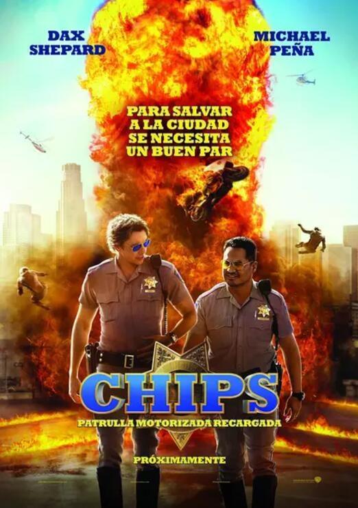 加州公路巡警的海报图片